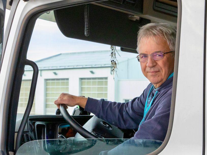Edgar Rohm, Kraftfahrer