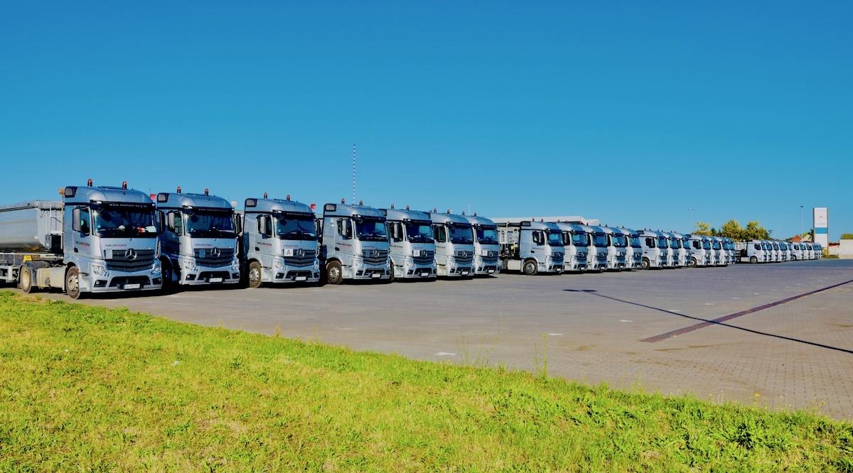Transporte und Baustoffhandel für Schüttgüter aller Art