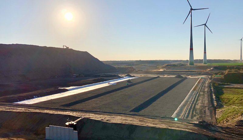 Deponie Reesen Windkraftanlage