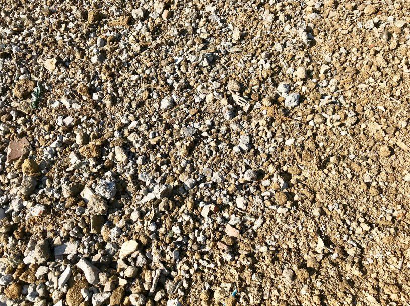 Abbildung Sand-Schlacke-Gemisch der MDSU Reesen
