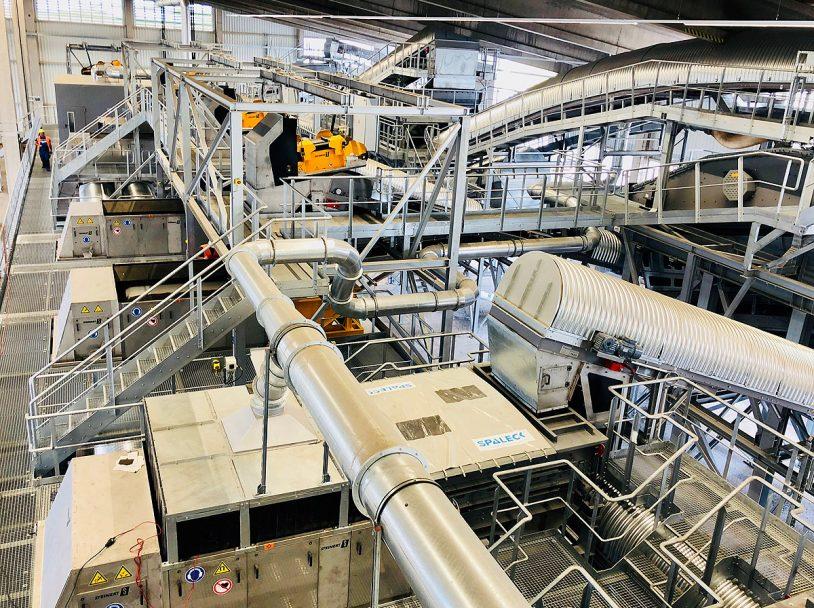 MDSU Süd in Zweibrücken Trockenaufbereitungsanlage