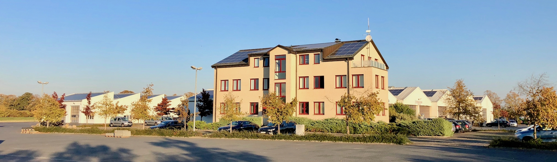 Abbildung Neumann Gruppe Firmensitz in Burg