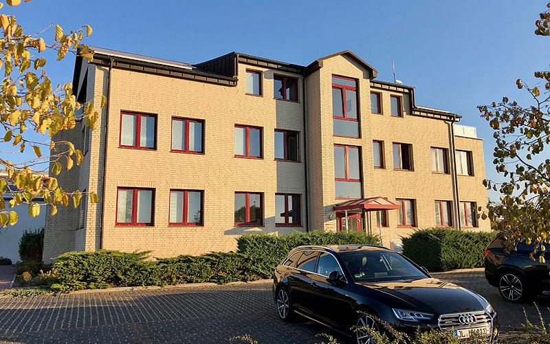 Abbildung Verwaltungsgebäude der Neumann Gruppe
