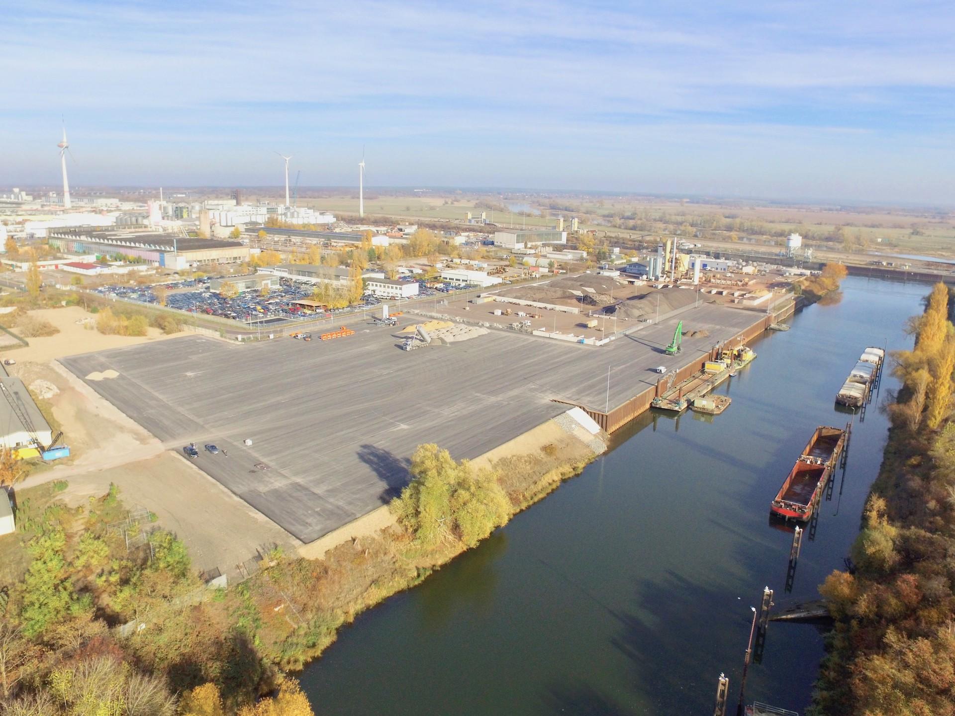UHM Umschlaghafen im Überblick