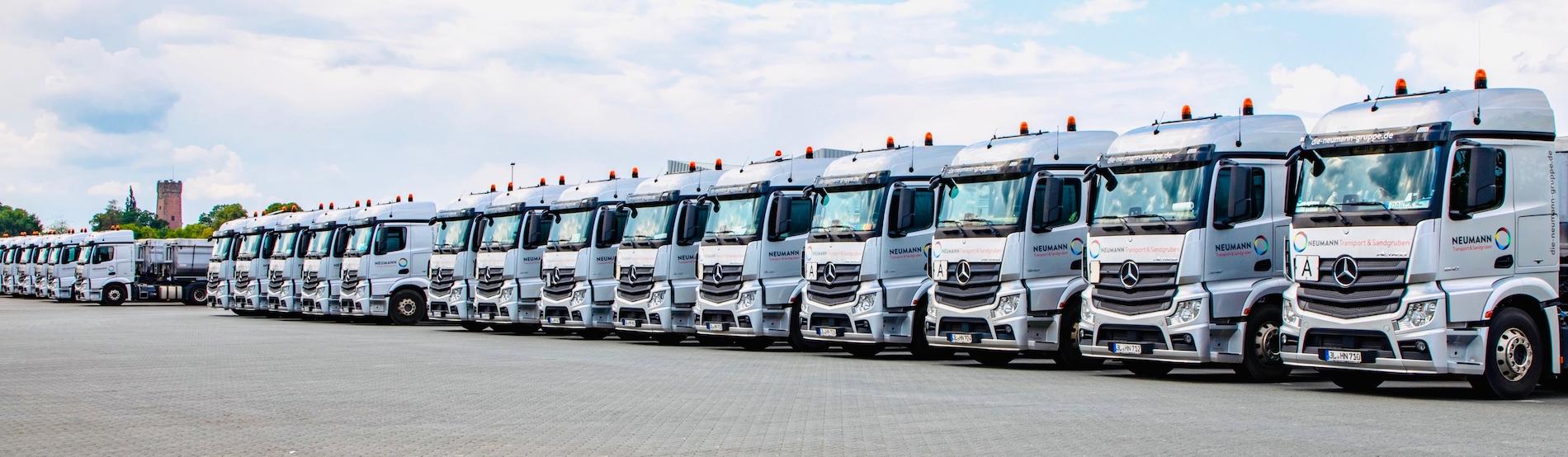 Neumann Transporte Logistik Flotte