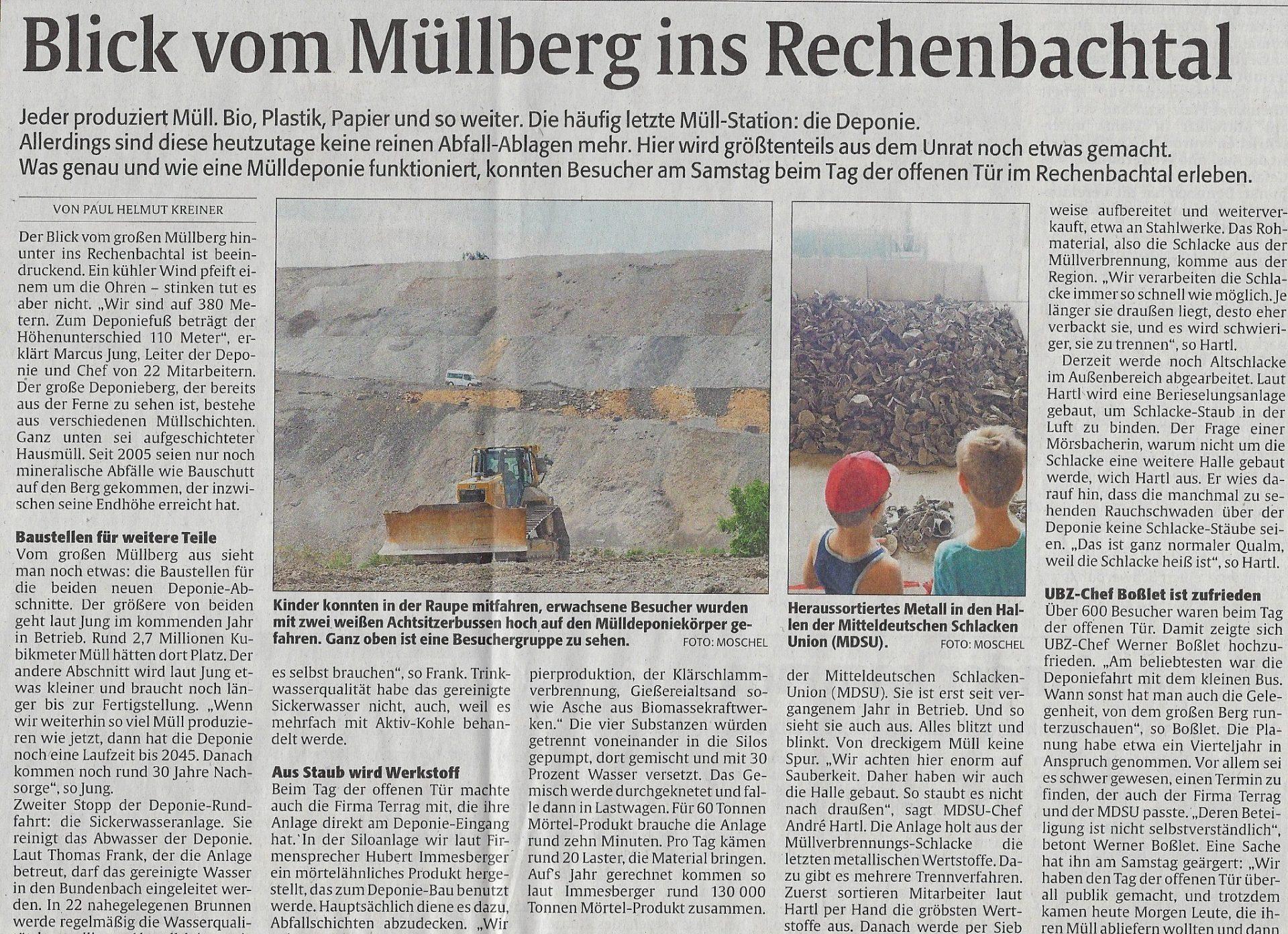 Tag der offenen Tür: Zweibrücker Rundschau