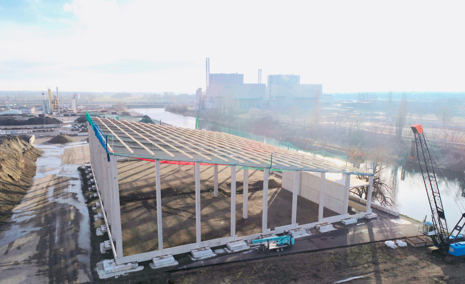UHM neue Halle im Februar 2020