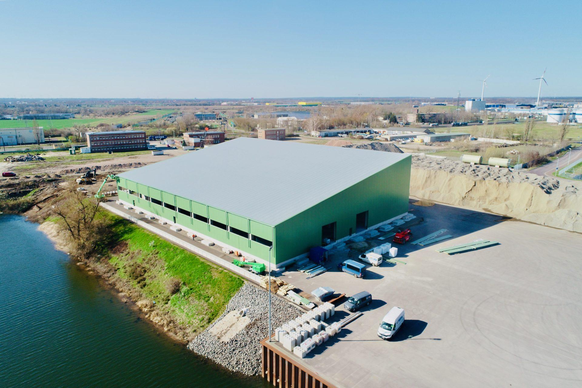 UHM Neue Halle März 2020 Wasserseite
