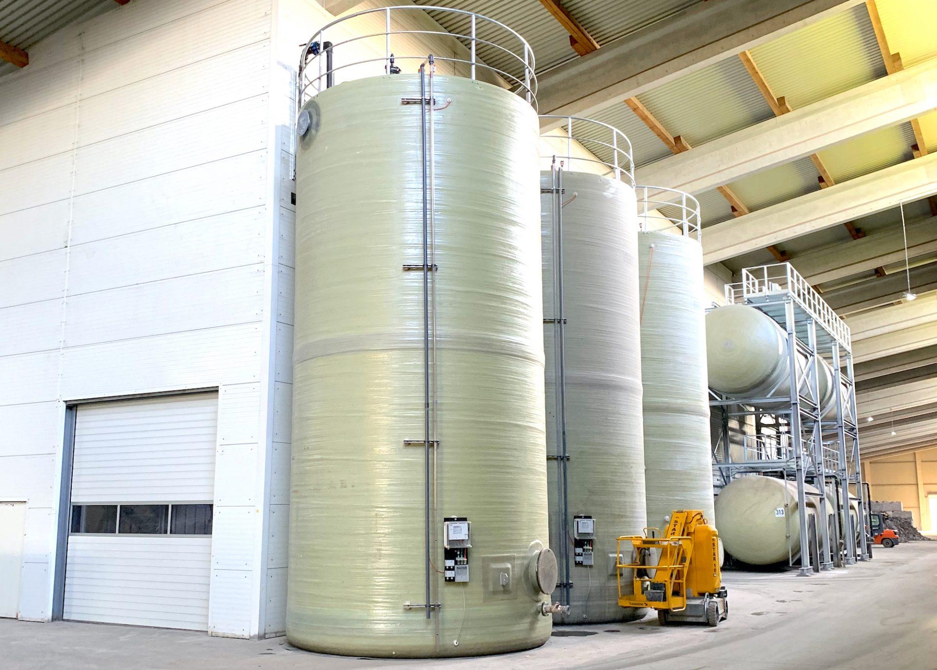 UHM Prozessabwassertanks