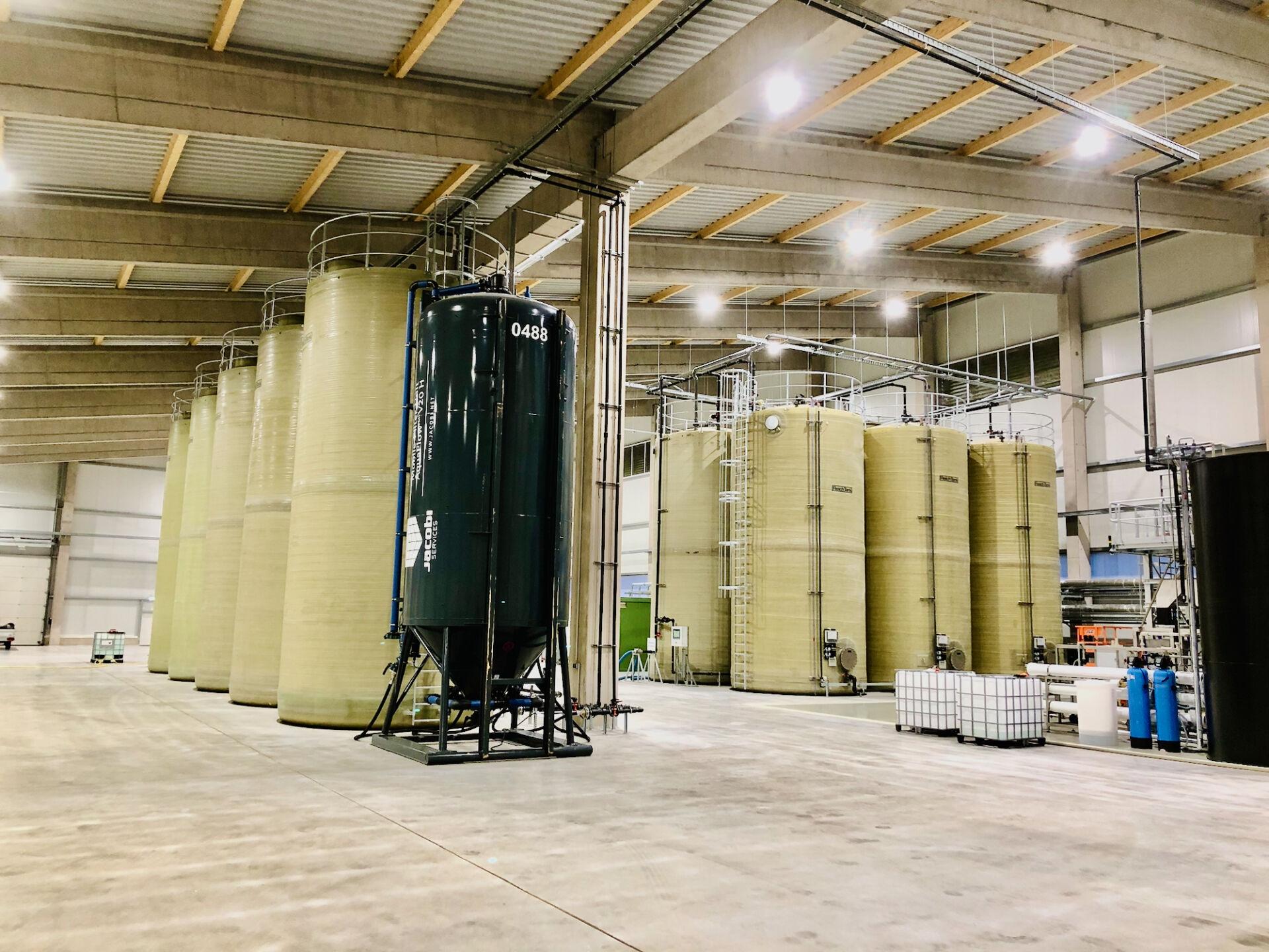 NTS Aktivkohlefilter der Wasseraufbereitungsanlage