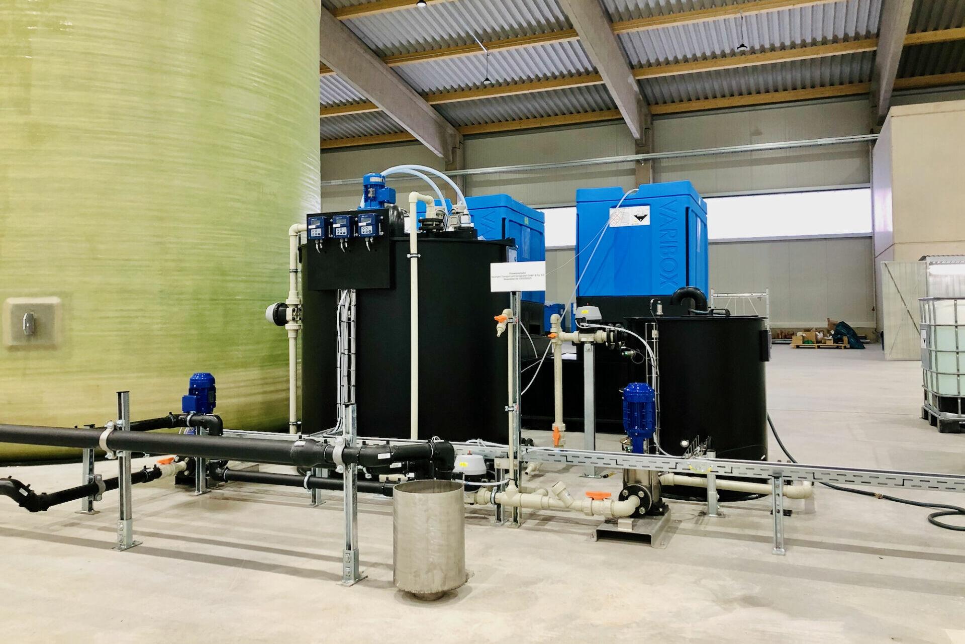 NTS Endkontrolle der Wasseraufbereitungsanlage