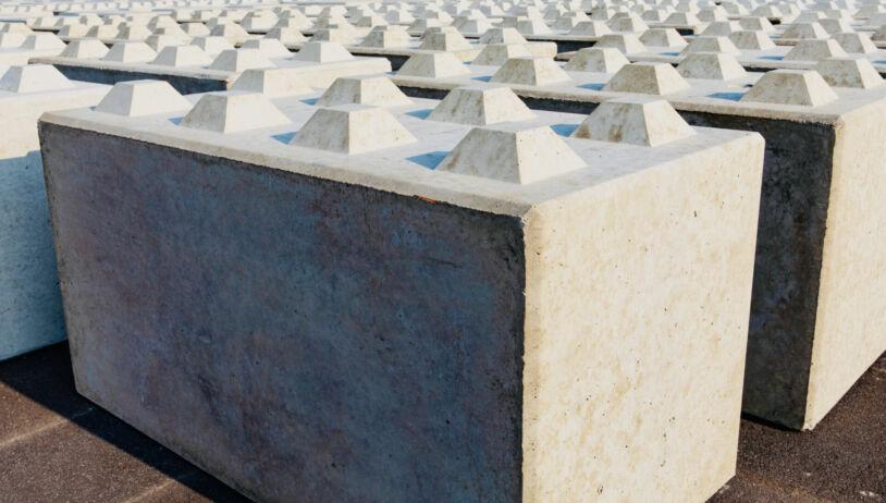 Blocksteine HMVA-Schlacke